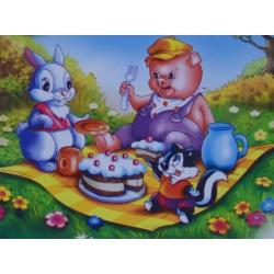 Puzzle Przyjęcie urodzinowe - PUZZLE DLA DZIECI