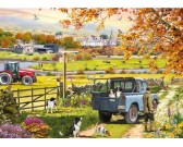 Puzzle Poranek na wsi