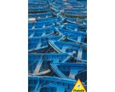 Puzzle Niebieskie łódki