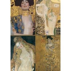 Puzzle - Klimt - kolaż