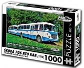Puzzle Bus Skoda 706 RTO KAR (1968)