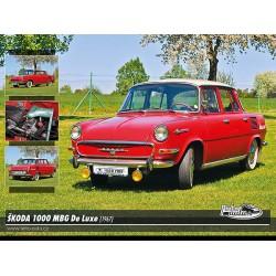 Puzzle Skoda 1000 MBG De Luxe (1967)