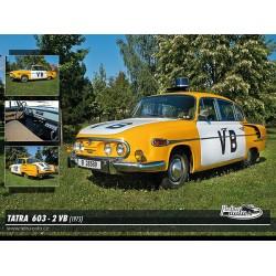 Puzzle Tatra 603 - 2 VB (1975)