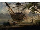 Puzzle Zakotwiczona łódź