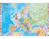 Puzzle Polityczna mapa Europy