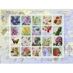 Puzzle Znaczki pocztowe