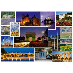 Puzzle Jedziemy na wakacje - Francja