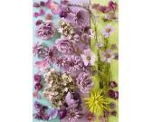 Puzzle Fioletowe kwiaty