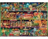 Puzzle Zabawki na półce