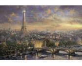 Puzzle Paryż miasto miłości
