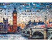 Puzzle Londyn - kolaż ze zdjęć