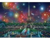 Puzzle Fajerwerki nad Paryżem