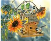 Puzzle Karmnik na słoneczniku