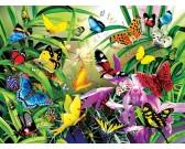 Puzzle Tropikalne motyle
