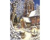 Puzzle Zaśnieżony kościół