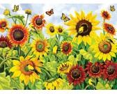 Puzzle Słoneczniki