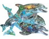 Puzzle Śpiew delfinów