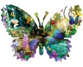 Puzzle Motyl - wodospad