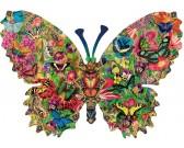 Puzzle Motyl - świat motyli
