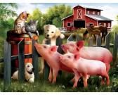Puzzle Zwierzęta - XXL PUZZLE