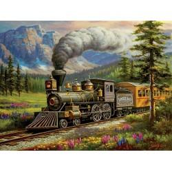Puzzle Pociąg Rockland Express - XXL
