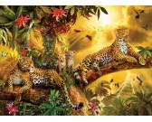 Puzzle Jaguary w dżungli