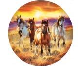 Puzzle Konie - PUZZLE OKRĄGŁE
