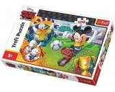 Puzzle Myszka Miki - piłka nożna - PUZZLE DLA DZIECI
