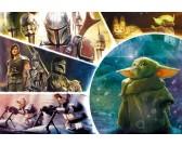 Puzzle Baby Yoda - PUZZLE DLA DZIECI