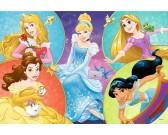 Puzzle Pięć księżniczek - PUZZLE DLA DZIECI