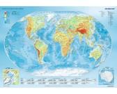 Puzzle Geograficzna mapa świata