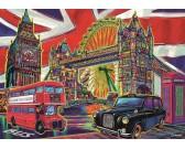 Puzzle Kolory Londynu