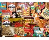 Puzzle Ciekawe koty