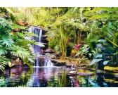 Puzzle Wodospad w dżungli