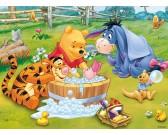 Puzzle Kubuś Puchatek - kąpiel - PUZZLE DLA DZIECI