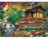 Puzzle Leśny domek