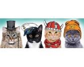 Puzzle Cztery koty - PUZZLE PANORAMICZNE