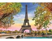 Puzzle Romantyczny Paryż