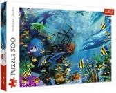 Puzzle Pod powierzchnią wody